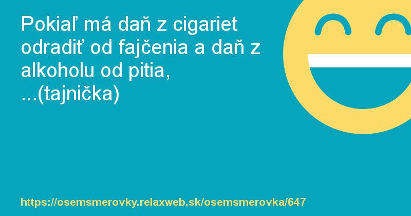 Fajčenie lekcie